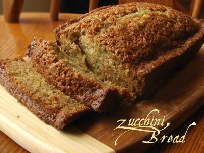 how to cut zucchini for bread